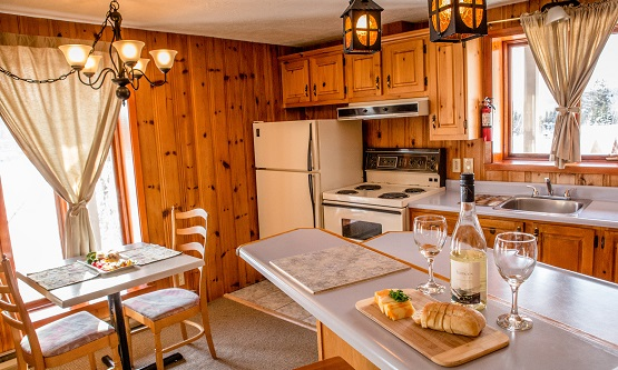 Cuisine Style Chalet. Great Deco Mountain Chalets Wood Inside With ...